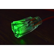 GoGreen Power 14/3 25' Heavy Duty Extension Cord, Lighted End, Orange (GG-13825)