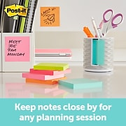 """Post-it® Note Dispenser for 3"""" x 3"""" Pop-Up Notes, White/Grey (ABS-330-W)"""