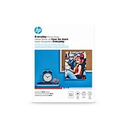 """HP Everyday Glossy Photo Paper, 8.5"""" x 11"""", 50/Pack (Q8723A)"""