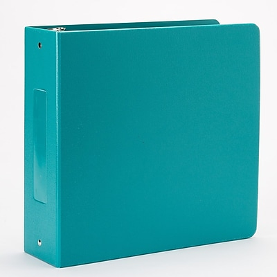 Omnimed Heavy Duty 3 Ring Tri- Polymer Binder Aqua Blue (205022-AQ)