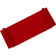 CONTROLTEK Coin Tray, 10 Compartments, Red (560560)