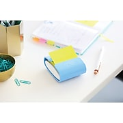 """Post-it® Pop-up Notes, 3"""" x 3"""", Assorted Colors, 5 Pads/Pack (3301-5AN)"""