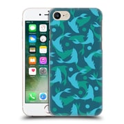 Official Mark Ashkenazi Patterns Dolphins Hard Back Case For Apple Iphone 7