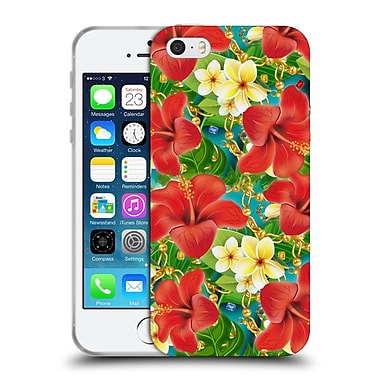 Official Mark Ashkenazi Tropical Hibiscus Soft Gel Case For Apple Iphone 5 / 5S / Se