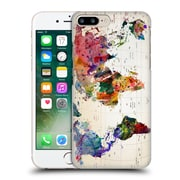 Official Mark Ashkenazi Pop Culture Map Of The World Hard Back Case For Apple Iphone 7 Plus
