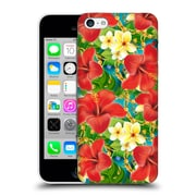 Official Mark Ashkenazi Tropical Hibiscus Hard Back Case For Apple Iphone 5C