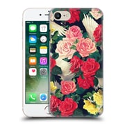 Official Mark Ashkenazi Florals Flowers And Wings Hard Back Case For Apple Iphone 7