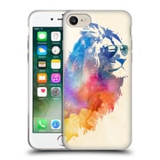 Official Robert Farkas Hipster Animals Sunny Leo Soft Gel Case For Apple Iphone 7