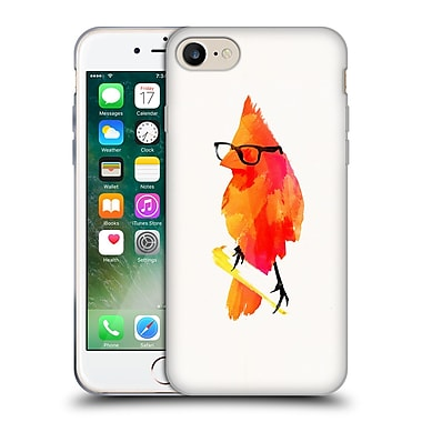 Official Robert Farkas Hipster Animals Punk Bird Soft Gel Case For Apple Iphone 7