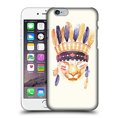 Official Robert Farkas Animals 2 Big Chief Hard Back Case For Apple Iphone 6 / 6S