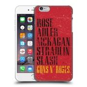 Official Guns N' Roses Vintage Names Hard Back Case For Apple Iphone 6 Plus / 6S Plus