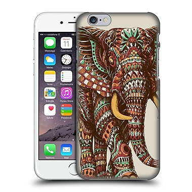 Official Bioworkz Coloured Wildlife 1 Ornate Elephant 2 Hard Back Case For Apple Iphone 6 / 6S