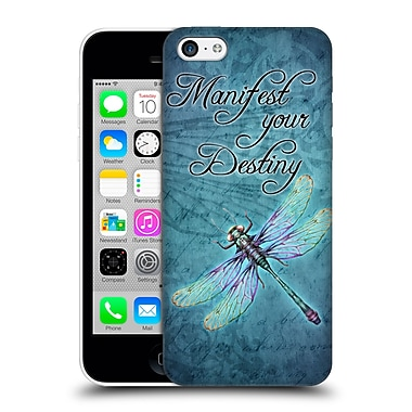 Official Brigid Ashwood Inspirational Dragonfly Hard Back Case For Apple Iphone 5C