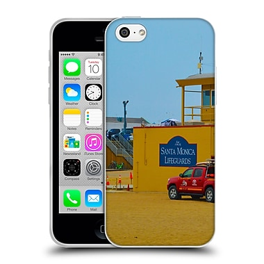 Official Haroulita Places 2 Santa Monica Lifeguards Soft Gel Case For Apple Iphone 5C