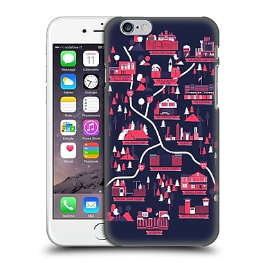 Official Robert Farkas Maps Walking Dead Hard Back Case For Apple Iphone 6 / 6S
