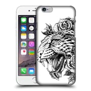 Official Bioworkz Animal Head Ornate Leopard Hard Back Case For Apple Iphone 6 / 6S