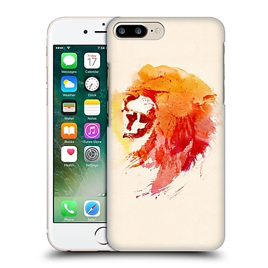 Official Robert Farkas Animals Angry Lion Hard Back Case For Apple Iphone 7 Plus