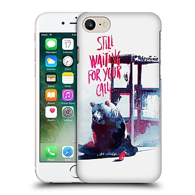 Official Robert Farkas Typography Still Waiting For Your Call Hard Back Case For Apple Iphone 7