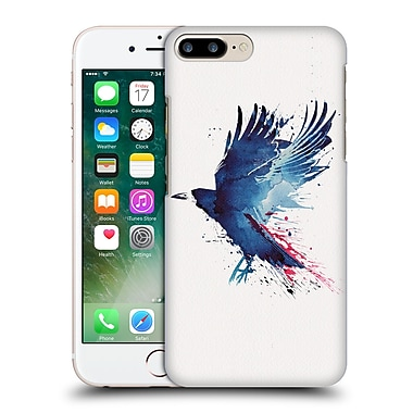Official Robert Farkas Animals Bloody Crow Hard Back Case For Apple Iphone 7 Plus