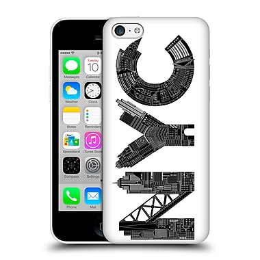 Official Robert Farkas Typography Nyc Hard Back Case For Apple Iphone 5C