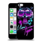 Official Robert Farkas Typography Miami Tiger Hard Back Case For Apple Iphone 5C