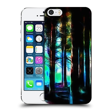 Official Haroulita Abstract Forrest Hard Back Case For Apple Iphone 5 / 5S / Se