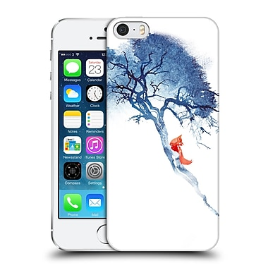 Official Robert Farkas Fox There'S No Way Back Hard Back Case For Apple Iphone 5 / 5S / Se