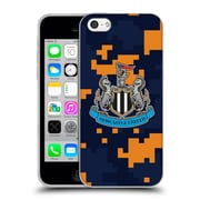 Official Newcastle United Fc Nufc 2016/17 Crest Kit Digital Camo Change Colours Soft Gel Case For Apple Iphone 5C