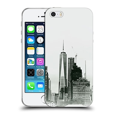 Official Haroulita Black And White Freedom Tower Soft Gel Case For Apple Iphone 5 / 5S / Se