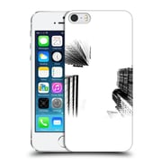 Official Haroulita Black And White Ny Towers Hard Back Case For Apple Iphone 5 / 5S / Se