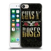 Official Guns N' Roses Key Art Text Logo Pistol Hard Back Case For Apple Iphone 7