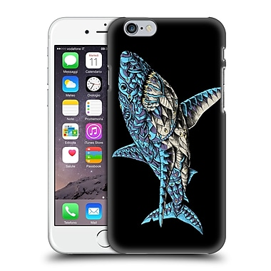 Official Bioworkz Coloured Ornate 1 White Shark Hard Back Case For Apple Iphone 6 / 6S