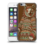 Official Bioworkz Coloured Wildlife 1 Grizzly Bear Hard Back Case For Apple Iphone 6 / 6S