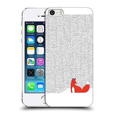 Official Robert Farkas Fox Black Grass Hard Back Case For Apple Iphone 5 / 5S / Se
