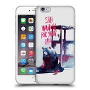 Official Robert Farkas Typography Still Waiting For Your Call Soft Gel Case For Apple Iphone 6 Plus / 6S Plus