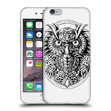 Official Bioworkz Aves Owl Portrait Soft Gel Case For Apple Iphone 6 / 6S