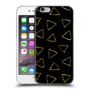 Official Haroulita Black And Gold Triangles Soft Gel Case For Apple Iphone 6 / 6S