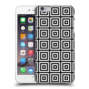 Official Haroulita Monochrome 3D Squares Hard Back Case For Apple Iphone 6 Plus / 6S Plus