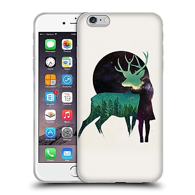 Official Robert Farkas Deer Let The Universe Love You Soft Gel Case For Apple Iphone 6 Plus / 6S Plus