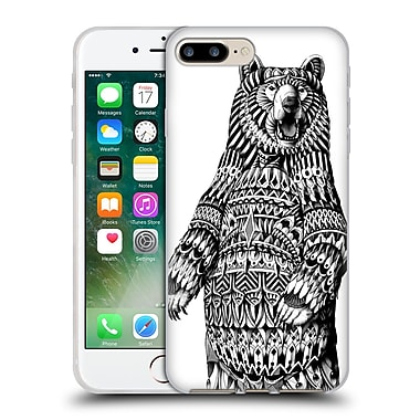 Official Bioworkz Wildlife Grizzly Bear Soft Gel Case For Apple Iphone 7 Plus