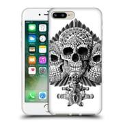 Official Bioworkz Skulls Spade Soft Gel Case For Apple Iphone 7 Plus