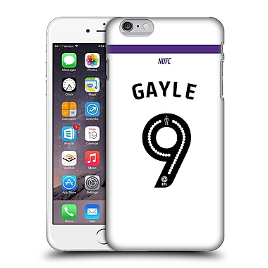 Official Newcastle United Fc Nufc 2016/17 Players Third Kit 1 Gayle Hard Back Case For Apple Iphone 6 Plus / 6S Plus