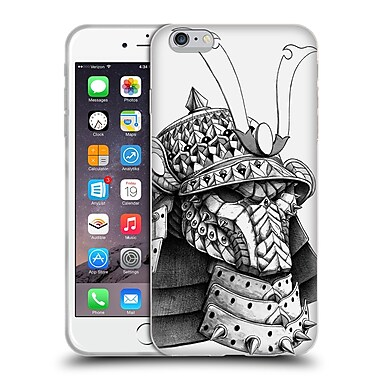 Official Bioworkz Ornate Samurai Helm Soft Gel Case For Apple Iphone 6 Plus / 6S Plus