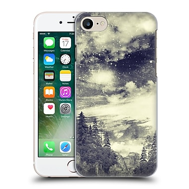 Official Haroulita Black And White Fantasy Mountains Hard Back Case For Apple Iphone 7