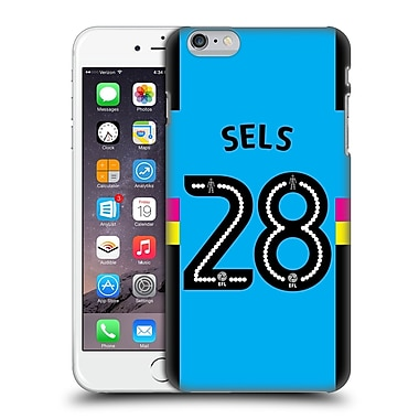 Official Newcastle United Fc Nufc 2016/17 Players Third Kit 1 Sels Hard Back Case For Apple Iphone 6 Plus / 6S Plus