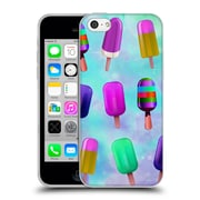 Official Haroulita Patterns Popsicles Soft Gel Case For Apple Iphone 5C