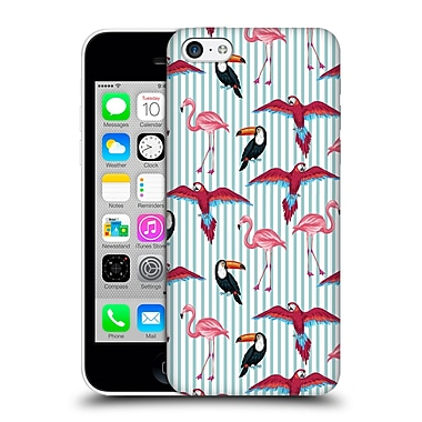 Official Mark Ashkenazi Flamingo Tropic Mood Hard Back Case For Apple Iphone 5C