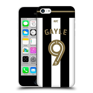 Official Newcastle United Fc Nufc 2016/17 Players Home Kit 1 Gayle Hard Back Case For Apple Iphone 5C