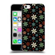 Official Haroulita Patterns Snow Flakes Soft Gel Case For Apple Iphone 5C