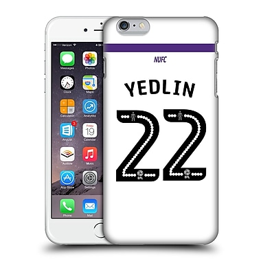 Official Newcastle United Fc Nufc 2016/17 Players Third Kit 2 Yedlin Hard Back Case For Apple Iphone 6 Plus / 6S Plus